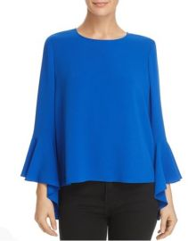 Blue Bell Sleeve Blouse by Vince Camuto at Vince Camuto