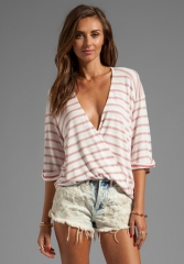Blue Life Haley Striped Top at Revolve