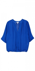 Blue Marru blouse by Joie at Joie