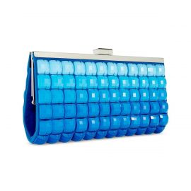 Blue Ombre Tile Clutch Purse by INC International Concepts at Macys