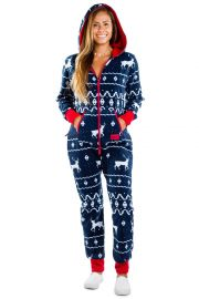 Blue Reindeer Jumpsuit at Tipsy Elves