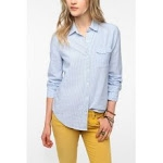 Blue Urban Outfitters shirt like Elenas at Urban Outfitters