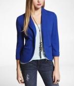 Blue blazer from Express at Express