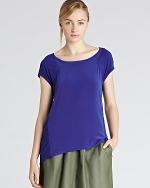 Blue blouse from Bloomingdales at Bloomingdales