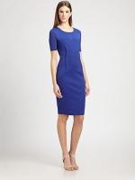 Blue dress by Max Mara at Saks at Saks Fifth Avenue