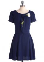 Blue dress like Bernadettes at Modcloth