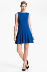 Blue drop waist dress by Alice and Olivia at Nordstrom
