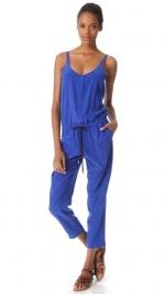 Blue jumpsuit by Club Monaco at Shopbop