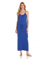 Blue maxi dress by CandC California at Amazon