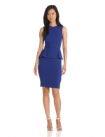 Blue peplum dress by French Connection at Amazon