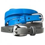 Blue skinny belt at Target