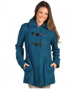 Blue toggle coat by Jessica Simpson at Zappos