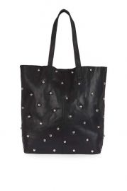 Bobby studded shopper bag at Topshop