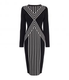 Body Contour Midi Dress at Karen Millen