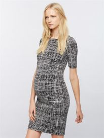 Bodycon Maternity Sheath Dress by A Pea in the Pod at A Pea in the Pod