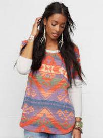 Boho Knit Sweatshirt at Ralph Lauren