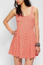 Boho print skater dress by ecote at Urban Outfitters