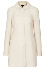 Boiled Wool Coat at Topshop