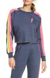 Bolt Crop Sweatshirt at Nordstrom