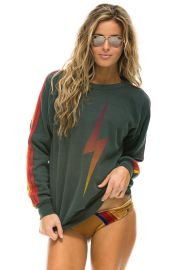 Bolt Fade Sweatshirt by Aviator Nation at Aviator Nation