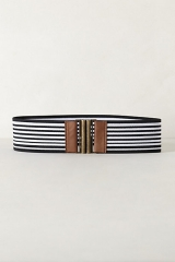 Bonheur Striped Belt at Anthropologie