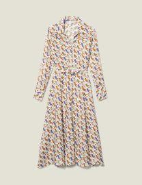 Bootseen Midi Shirt Dress by Sandro at Sandro