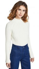 Bop Basics Wide Rib Turtleneck Sweater at Shopbop