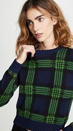 Bop Basics Tartan Plaid Crew Neck Sweater at Shopbop