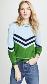 Bop Basics Vintage Varsity Pullover at Shopbop