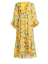 Borgo de Nor - Iris Printed High-Low Dress at Saks Fifth Avenue