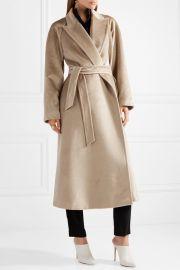 Bormio belted alpaca coat at Net A Porter