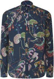 Botanical Print Shirt at Paul Smith