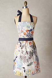 Botanist Knoll Apron at Anthropologie