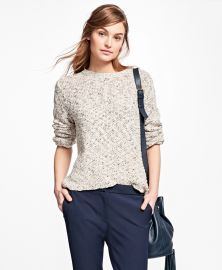 Boucle Crewneck Sweater at Brooks Brothers