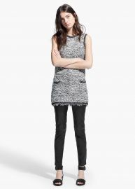 Boucle Shift Dress at Mango