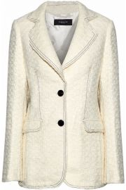 Boucle-tweed blazer by Derek Lam at The Outnet