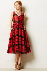Bougainvillea Dress at Anthropologie