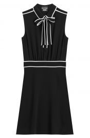 Boutique Moschino Bow Neck Dress at Stylebop