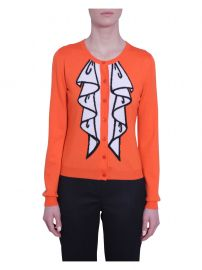 Boutique Moschino Printed Cardigan at Italist