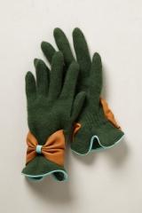 Bow Bracelet Gloves at Anthropologie