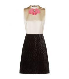Bow Brooch Sleeveless Dress at Harrods