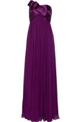 Bow Detail Gown by Marchesa at The Outnet