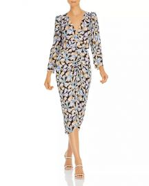 Bow Fleur Silk Blend Dress by Rebecca Taylor at Bloomingdales