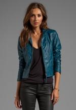 Bowen faux leather jacket by BB Dakota at Revolve