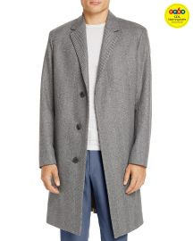 Bower Wool Herringbone Overcoat theory at Bloomingdales