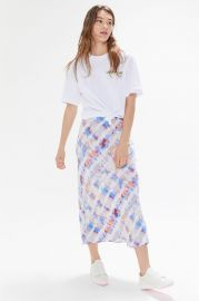 Bowie Bias Cut Skirt by Urban Outfitters at Urban Outfitters