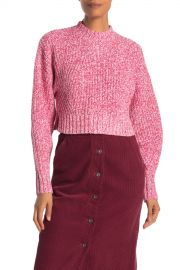 Bowie Crop Pullover Sweater at Nordstrom Rack