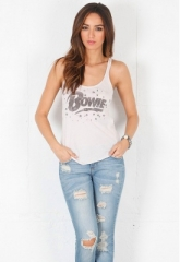 Bowie Stars Tank top by Chaser at Singer 22