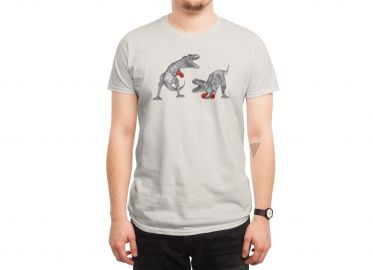 Boxing T-rex tee at Threadless