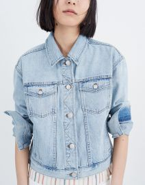 Boxy Crop Jean Jacket at Madewell